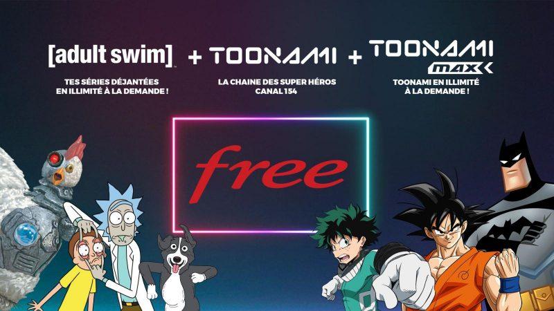 Découvrez Toonami Max et Adult Swim, les deux nouveaux services de VOD en illimité arrivés aujourd'hui sur les Freebox