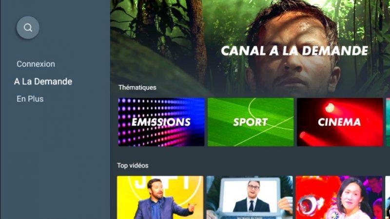 Freebox mini 4K: après avoir disparu du Play Store, MyCanal sera prochainement de nouveau accessible sur la box Android TV de Free