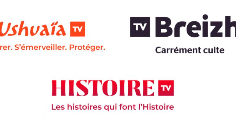 Plusieurs chaînes du groupe TF1 font peau neuve, nouveau logo, habillage et contenu prémium..