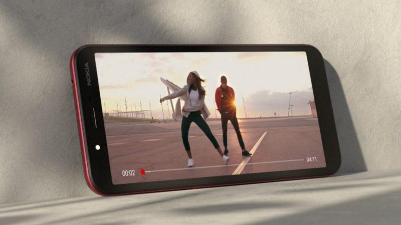 Nokia C1 : un smartphone Android Go pour les petits budgets