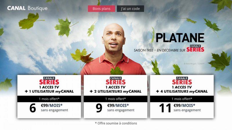 Découvrez l'interface de Canal+ Séries, le nouveau service de SVOD présent sur les Freebox