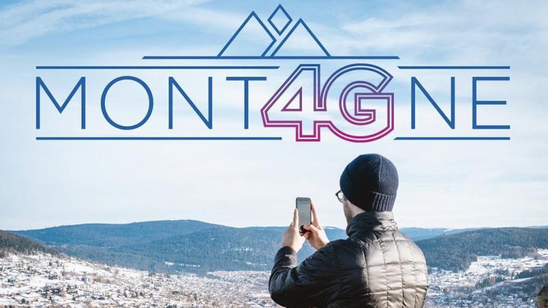 Clin d'oeil : la 4G de Bouygues glisse bien en montagne, l'opérateur le sait et provoque une avalanche de sourires
