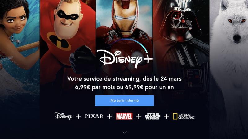 Disney+ débarquera en avance à 6,99€/mois tout compris, des abonnés Canal seront privilégiés