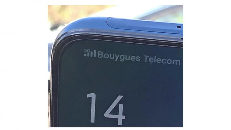 """5G : premier test grandeur nature pour Bouygues Telecom dans une ville où le déploiement est """"déjà bien avancé"""""""