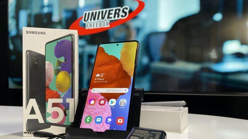 Univers Freebox a testé le Galaxy A51 disponible chez Free Mobile, un smartphone avec lequel Samsung n'a pas pris beaucoup de risques