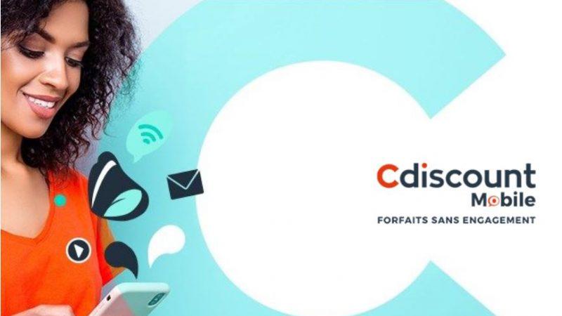Cdiscount Mobile lance une nouvelle promo avec un forfait proposant 30 Go et une enveloppe de data supplémentaire à l'étranger