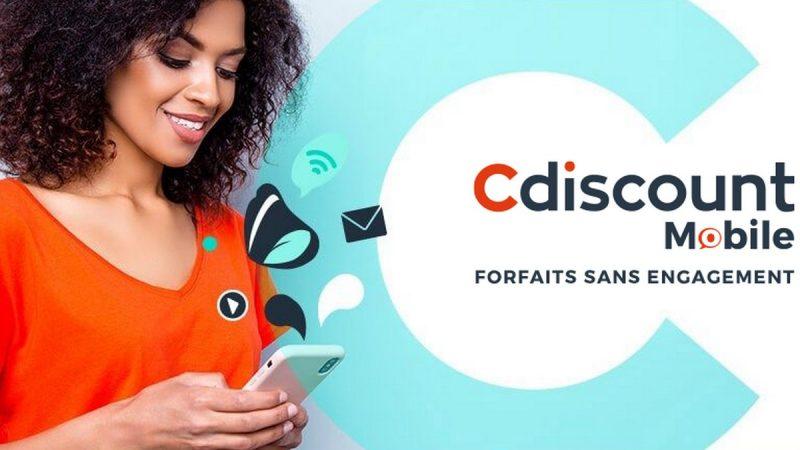 Cdiscount Mobile propose un forfait 100 Go à 9,99 euros par mois
