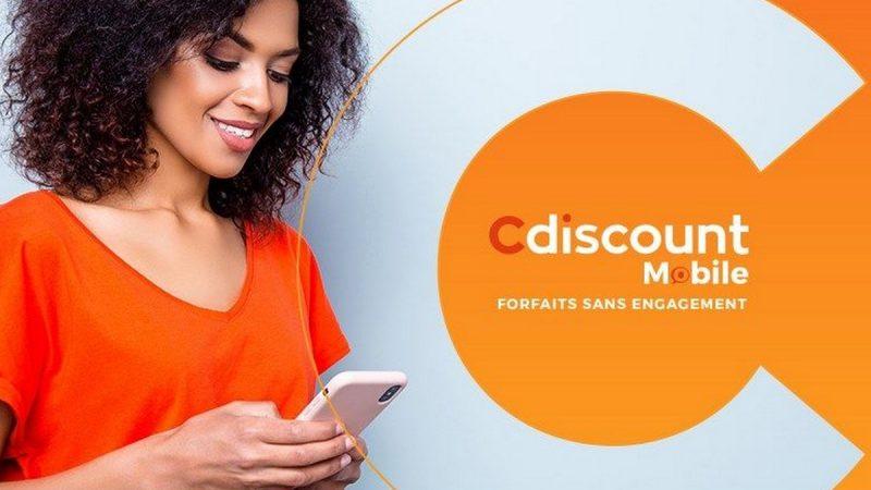Cdiscount Mobile dégaine un forfait 50 Go en promotion à 2,99 euros par mois