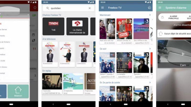 L'application Freebox se met à jour sur Android avec une nouveauté et une correction