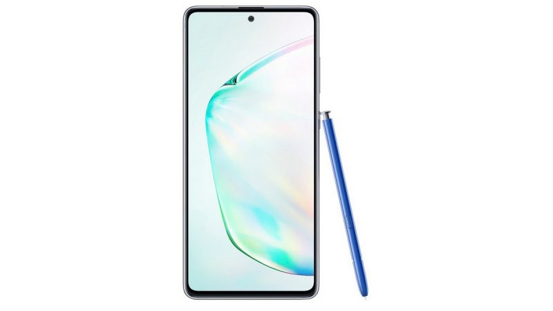 (Màj) Samsung officialise son smartphone Galaxy Note10 Lite