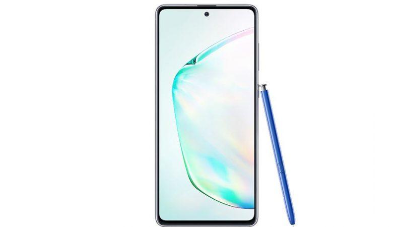 Le Samsung Galaxy Note 10 Lite est déjà disponible en précommande en France