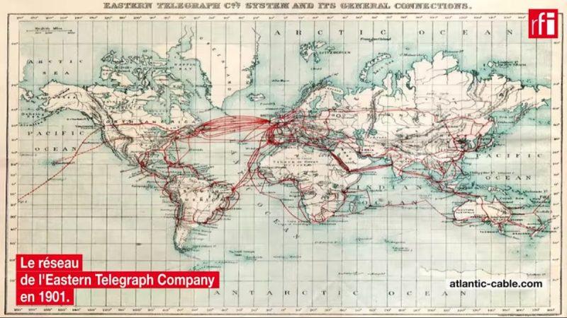 Une vidéo retrace l'histoire des télécommunications depuis les premiers câbles sous-marins télégraphiques