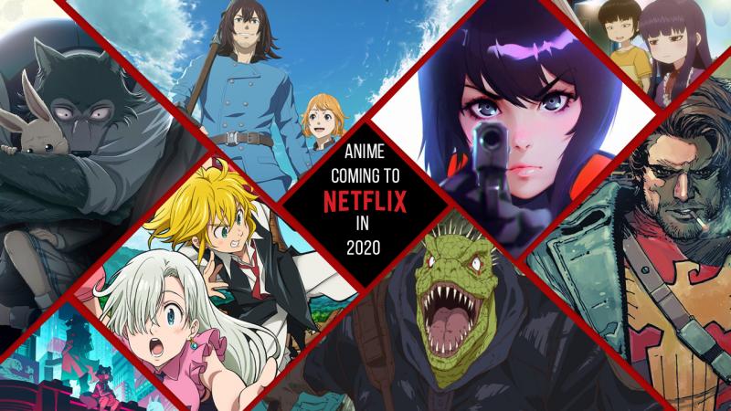 Netflix a signé un partenariat avec six grands créateurs d'animation japonaise