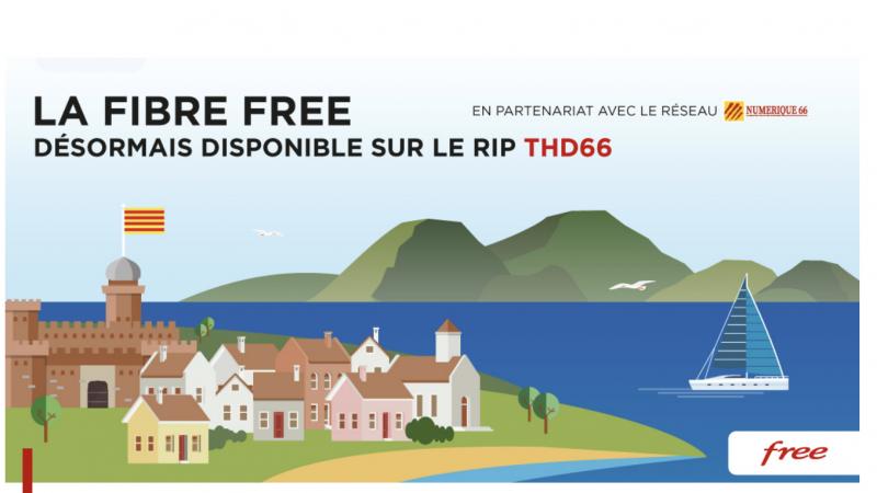 Free officialise le lancement de ses offres fibre sur un RIP d'Altitude