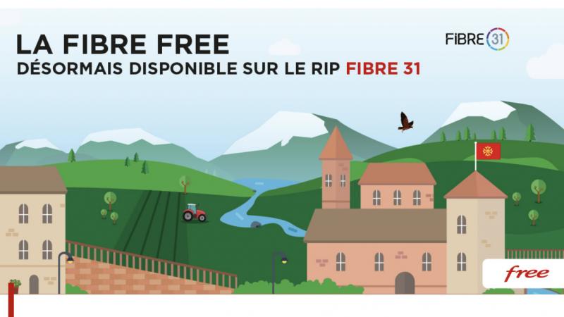 C'est officiel, Free dégaine ses offres fibre sur un nouveau RIP