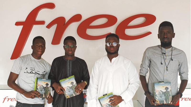 Clin d'oeil : Free a besoin d'amour pour la Saint-Valentin… au Sénégal