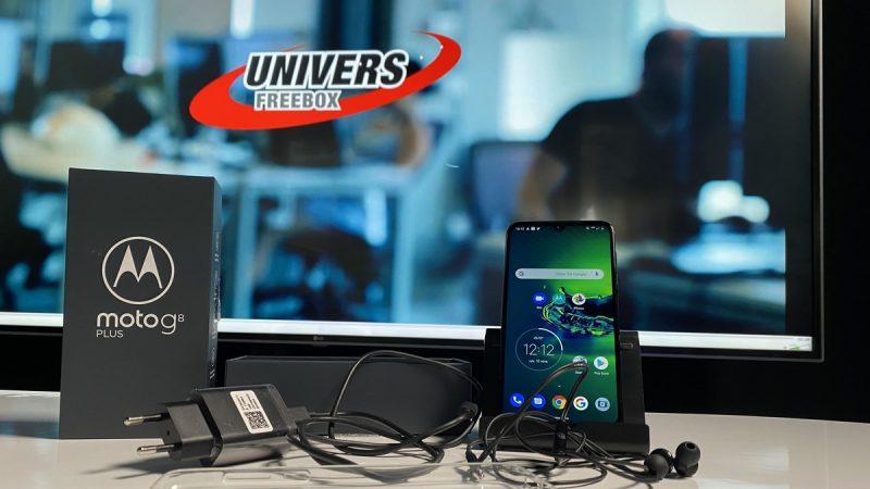 Univers Freebox a testé le Moto G8 Plus, un smartphone proposant une expérience intéressante sans coûter une fortune