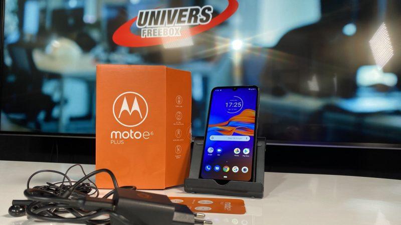 Moto E6 Plus : le smartphone Android à petit prix testé par Univers Freebox
