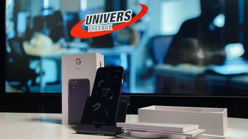 Univers Freebox a testé le Pixel 4, le smartphone champion de la photo par Google