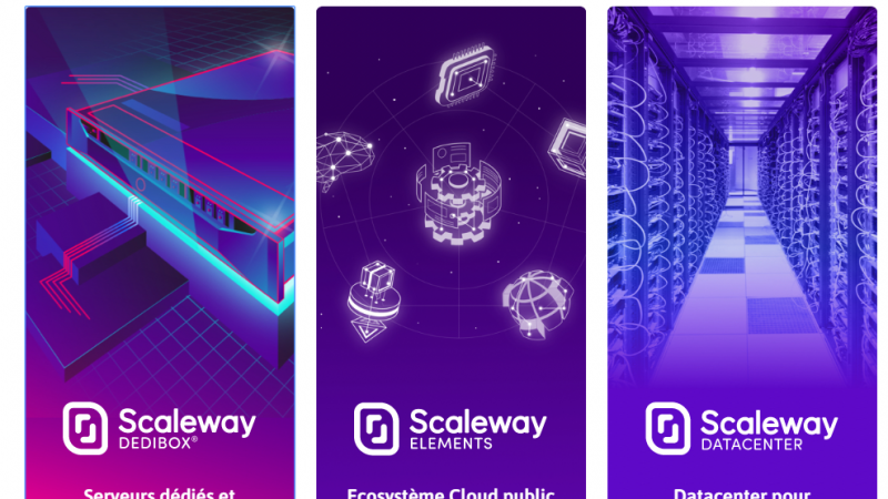 Le cloud d'Iliad lance Scaleway Dedibox et finalise son harmonisation