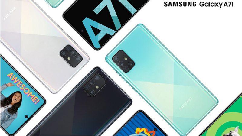 Free Mobile: le nouveau Samsung Galaxy A71 fait son entrée dans la boutique en ligne