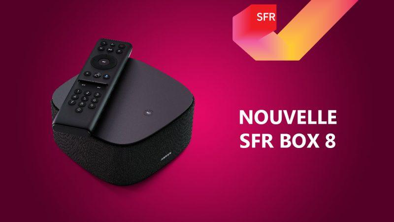 SFR propose désormais la fibre 2Gb/s partagés sur sa Box 8 et en augmente le prix