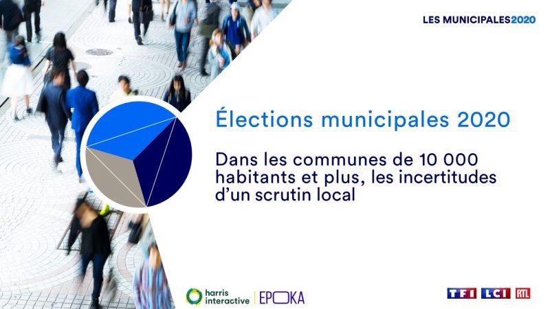 TF1, LCI et RTL analysent l'opinion des français pour les élections municipales