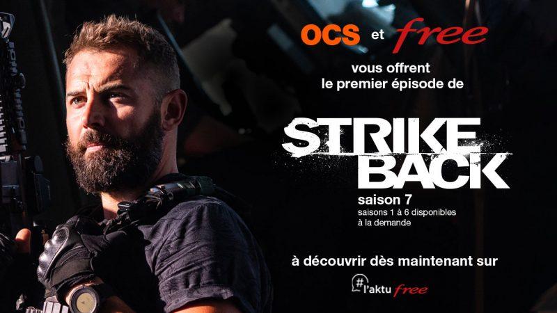 Free et OCS offrent aux abonnés Freebox le premier épisode de la dernière saison de Strike Back