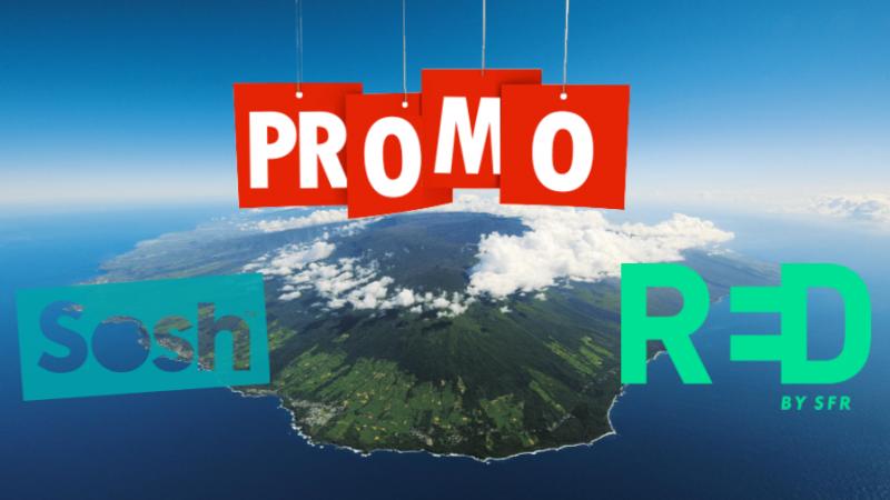 Sosh et Red By SFR Réunion lancent leurs promos d'été
