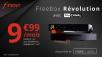 Lancement de la vente privée Freebox Révolution avec TV by Canal pour 9.99€/mois