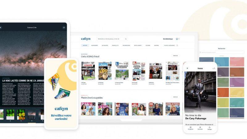 Freebox Delta: Cafeyn (ex-LeKiosk) permet de mieux accéder à vos magazines préférés