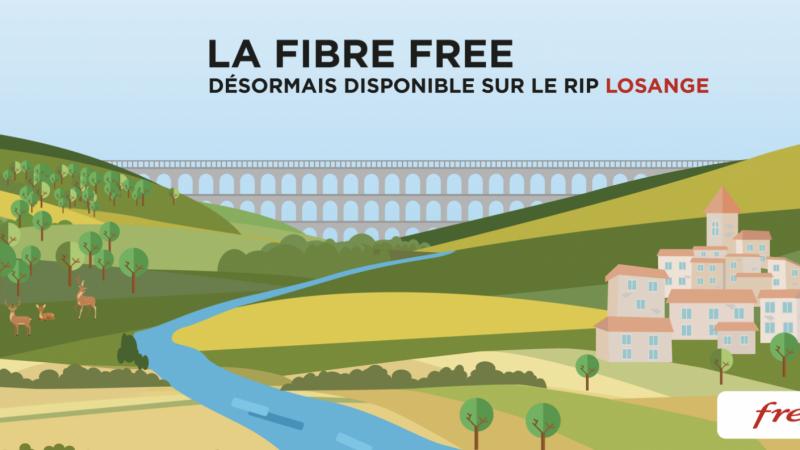 Free officialise le lancement de ses offres fibre dans 7 nouveaux départements