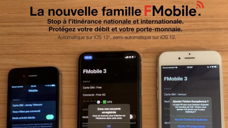FMobile : sauvée, l'app libérant les abonnés Free Mobile de l'itinérance Orange débarque dans une nouvelle version évolutive