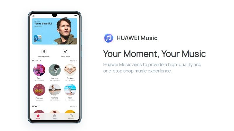 Huawei Music : la marque lance son propre service de streaming musical