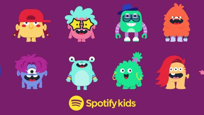 Spotify Kids : le service de streaming musical dédié aux enfants