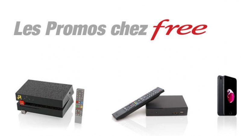 Toutes les promos chez Free Mobile et sur la Freebox d'un seul coup d'oeil