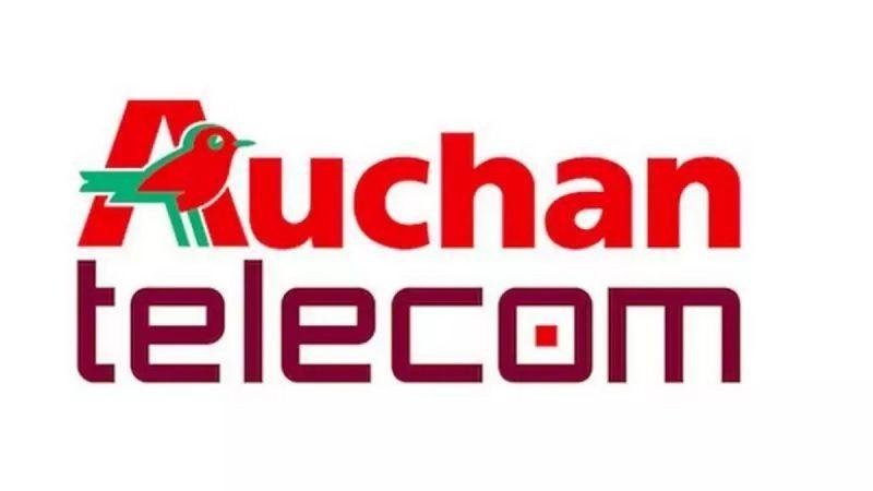 Auchan Telecom: nouvelle série limitée avec un forfait 50 Go à 4,99€ par mois