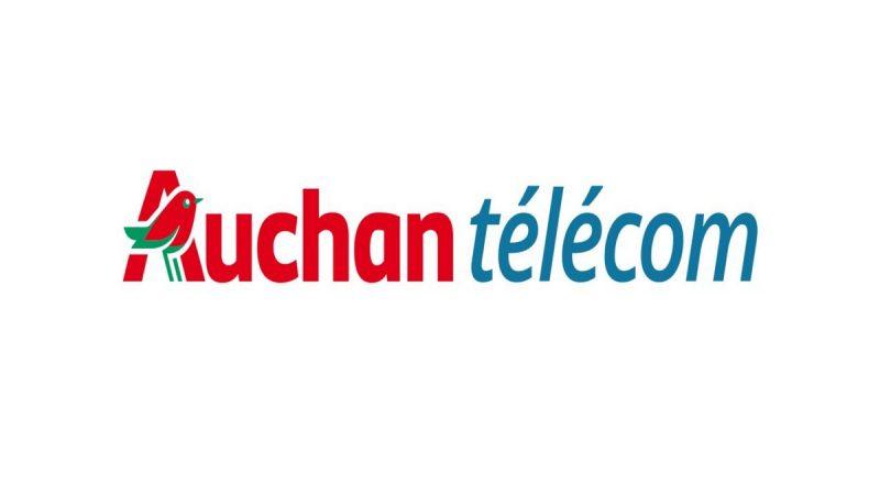 Auchan Telecom propose un forfait 40 Go sans engagement en promotion à 4,99 euros par mois