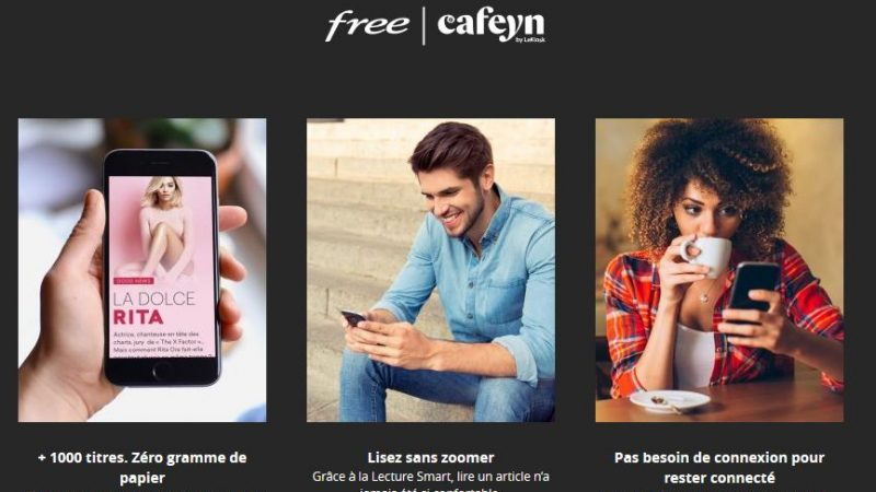 Abonnés Freebox Delta : Cafeyn se met à jour sur Android et facilite l'accès à vos magazines favoris