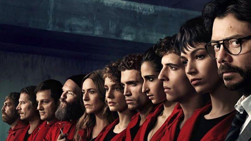 Netflix dévoile la bande annonce de la partie 4 de la casa de papel
