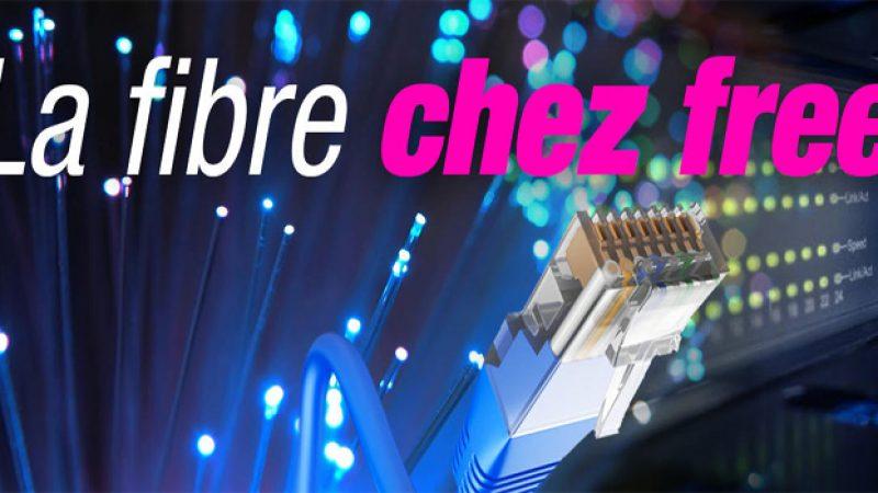 Les offres fibre de Free sont disponibles sur des nouvelles zones moyennement denses opérées par SFR