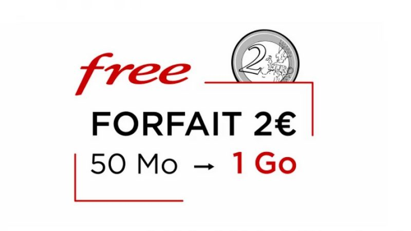 Free Mobile offre 20x plus de data avec son forfait 2 euros : des remerciements chez les abonnés, mais pas que…