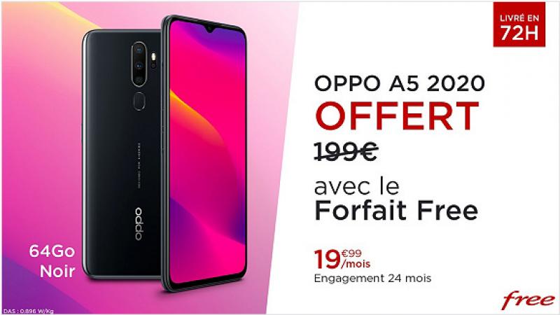 Free Mobile : le forfait 100 Go avec un smartphone apprécié offert, c'est reparti pour un tour