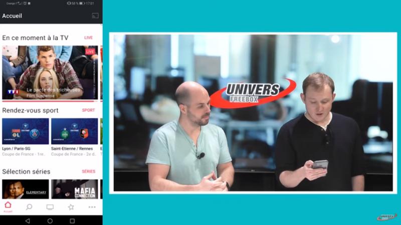 Tuto vidéo Univers Freebox : les solutions pour regarder les chaînes de la Freebox sur smartphone, tablette, PC et même à l'extérieur