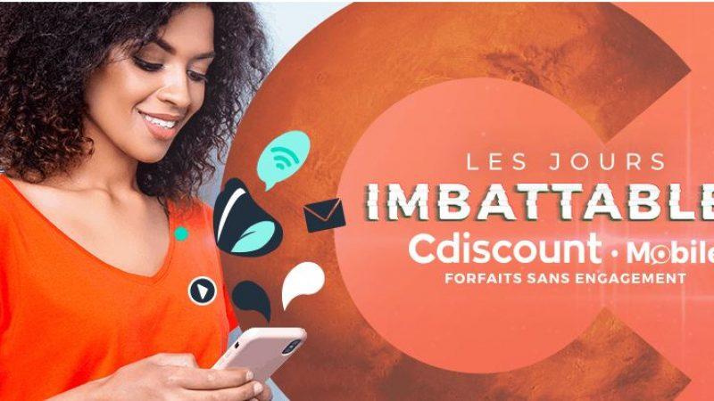 Cdiscount Mobile dégaine une nouvelle offre très limitée dans le temps : 200 Go pour 9.99€/mois