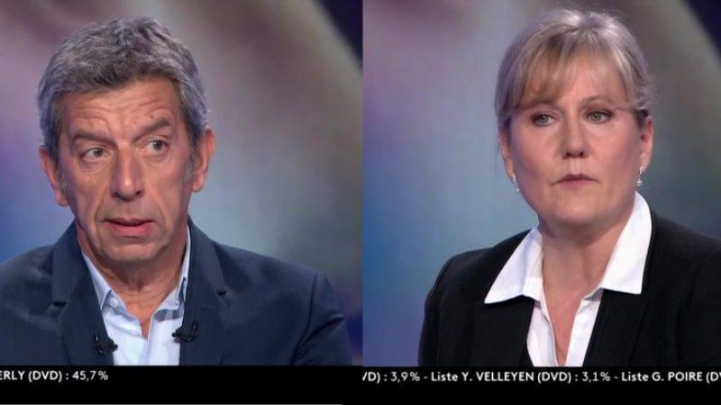 France 2 : Michel Cymes agacé par les propos de Nadine Morano concernant l'épidémie de coronavirus, il la recadre en direct