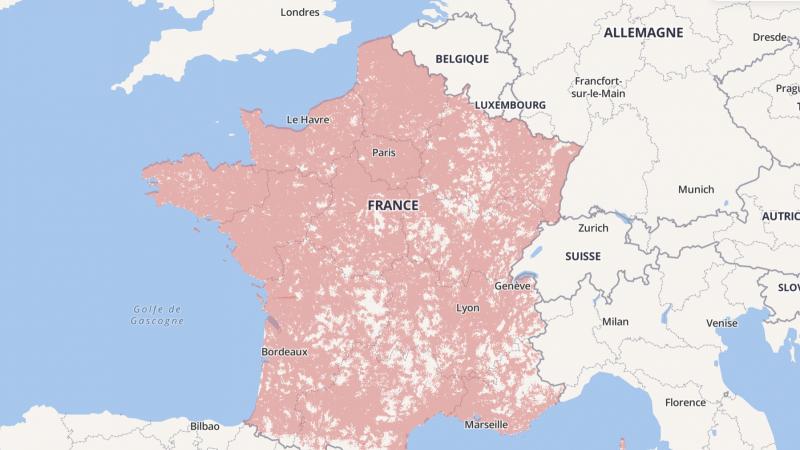 C'est officiel, Orange, Free, SFR et Bouygues devront publier des cartes de couverture mobile plus fiables dès l'automne prochain