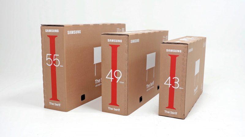 Samsung : une initiative écologique avec les nouveaux emballages TV de la marque