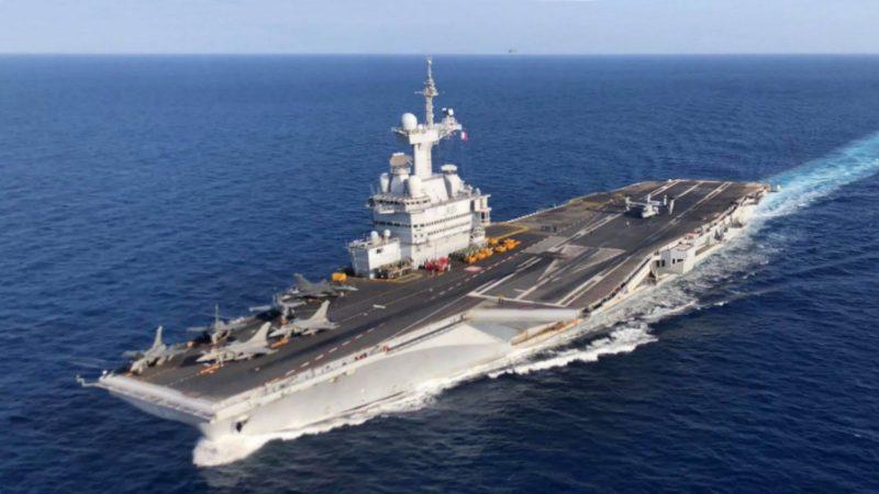 Clin d'oeil : le geste de Canal+ aux 1800 marins confinés du Charles-de-Gaulle