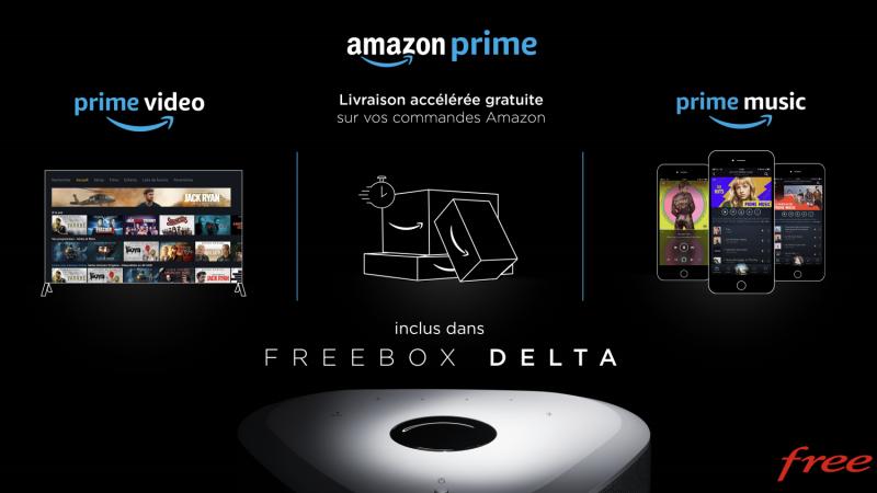 Non, Free ne va pas supprimer Prime Vidéo sur la Freebox Delta